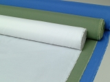 WHITE POLYESTER FABRIC