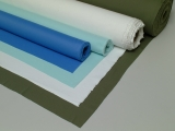 GREEN NYLON STRETCH FABRIC