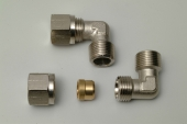 ELBOW COMPRESSION FITTING FOR COPPER PIPE