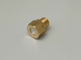 BRASS NUT+PTFE FOR SOLENOID VALVE PONY