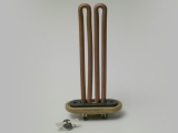 HEATING ELEMENT WITH OVAL FLANGE