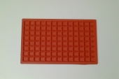 SQUARED IRON RUBBER MAT